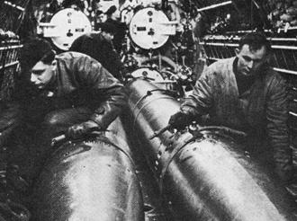 торпеды для подводных лодок второй мировой войны