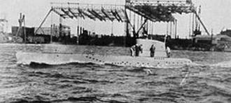 Немецкие подводные лодки xvii серии